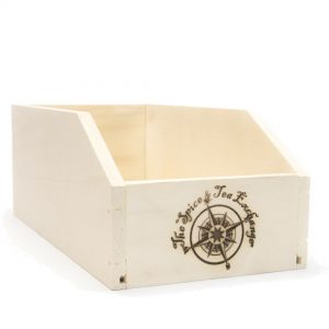 Large TSTE® Branded Wood Storage Box