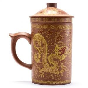 Rust Dragon Tea Mug Infuser