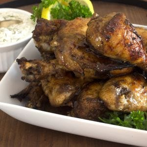 Baharat Honey Chicken