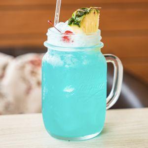 Blue Voodoo Tea Cocktail