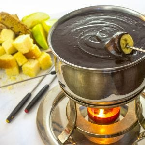 Chocolate Cream Fondue