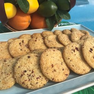 Florida Sunshine Cookies