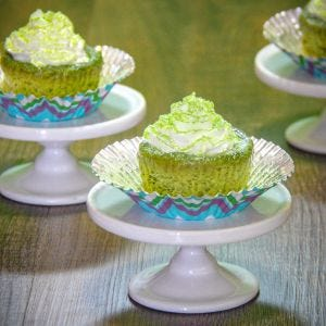 Green Tea Cheesecake Bites