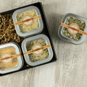 Party Dips 4 Tin Gift Box