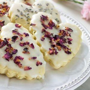 Sinfully Cherry Tea Cookies