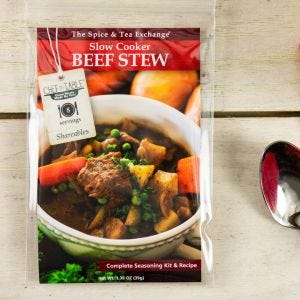 Slow Cooker Beef Stew Recipe Kit