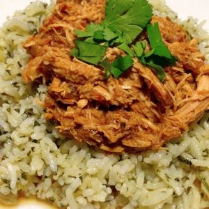 Slow Cooker Mole Chicken