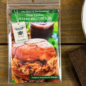 Slow Cooker Pulled BBQ Chicken Recipe Kit