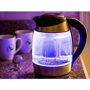 Glass Digital Tea Kettle