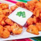 Baked Buffalo Cauliflower