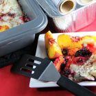 Berry-Peach Freezer Cobbler