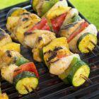 Caribbean Chicken Kebabs