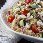 Garden Harvest Orzo Salad