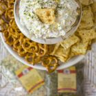 Garlicky Herb Dip