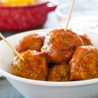 Tuscan Turkey Meatballs