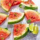 Salted & Spiced Watermelon & Mangoes