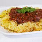 Spaghetti Squash & Tomato-Tuscany Sauce