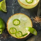 Spicy Matcha Margaritas