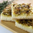 Sweet Onion Focaccia Bread