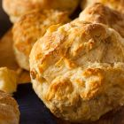 Vik's Cheesy Garlic Biscuits