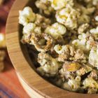 White Chocolate Turtle Popcorn