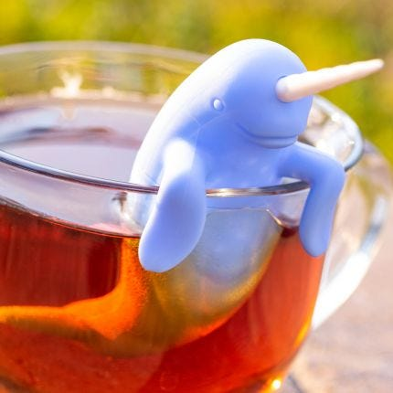 Spiked Tea Narwhal Infuser