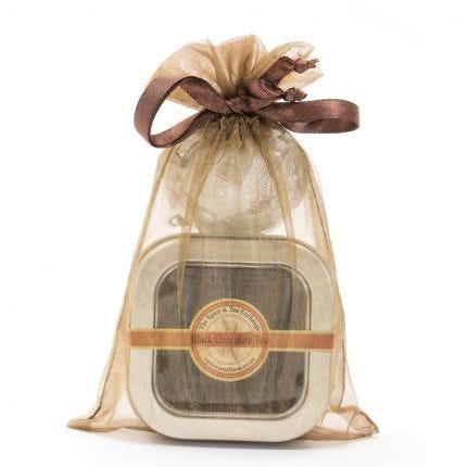 Black Chocolate Tea Tin - Volume Priced