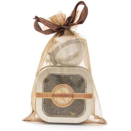 Blueberry Black Ceylon Tea Tin - Volume Priced