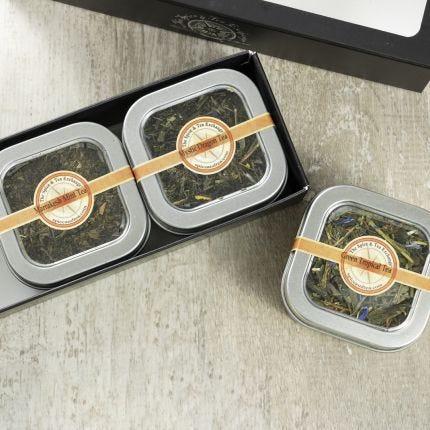 Green Tea 3 Tin Gift Box