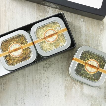 Olive Oil Dips 3 Tin Gift Box