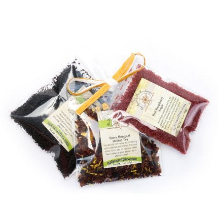Chocolate Covered Berry Tea Sampler