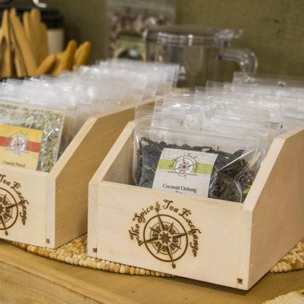 TSTE® Branded Wood Storage Boxes