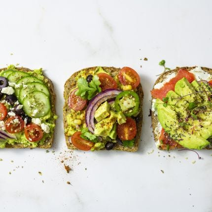 Avocado Toast - 3 Ways