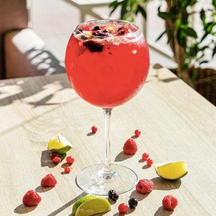 Berry Bouquet Tea Sparkler