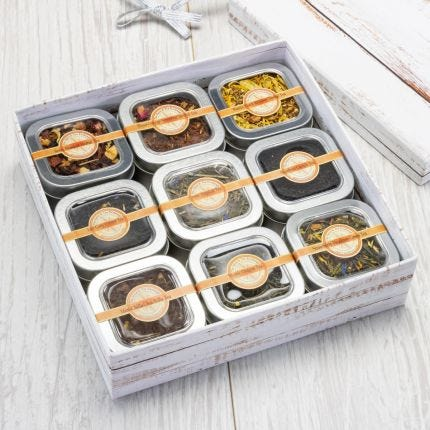 Best Selling Teas 9 Tin Gift Box