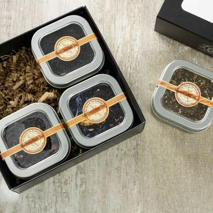 Black Tea 4 Tin Gift Box
