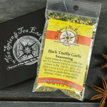 Black Truffle Garlic Seasoning Barter Box