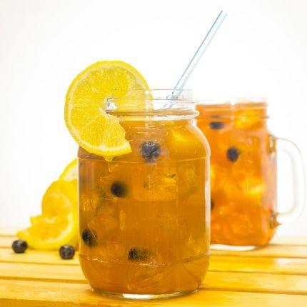 Blueberry Tea-Lemonade