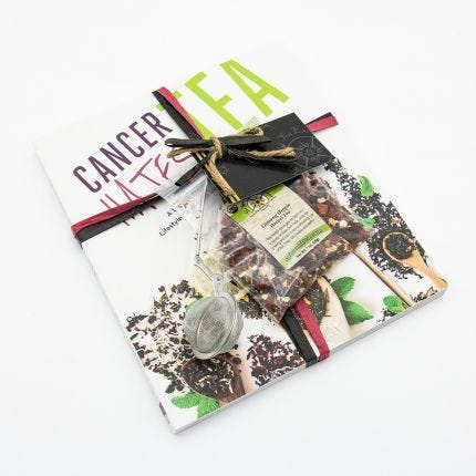 Cancer Hates Tea Book and Bundle - Ginseng Hippie