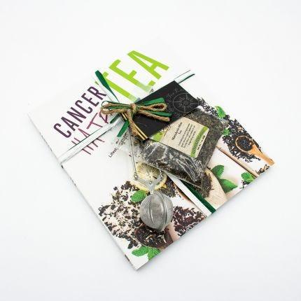 Cancer Hates Tea Book and Bundle - Marrakesh Mint