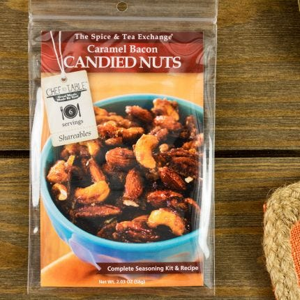 Caramel Bacon Candied Nuts Recipe Kit