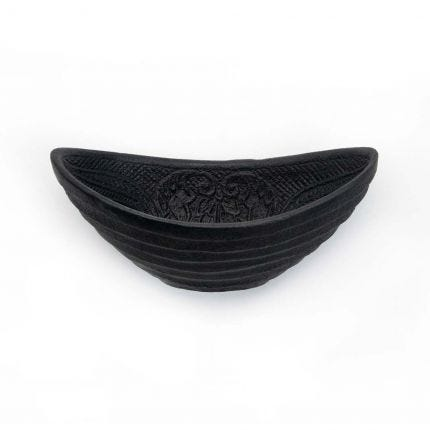 Cast Iron Oval Bowl