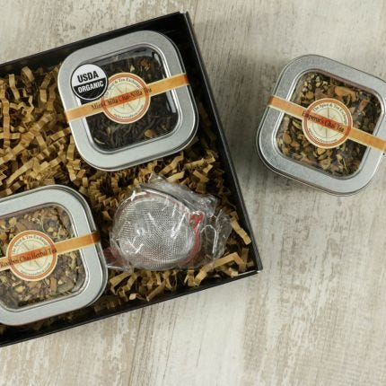 Chai Lover's 3 Tin Gift Box