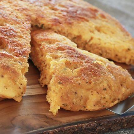 Cheddar Herb Skillet Bread