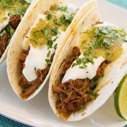 Chipotle Pork Street Tacos