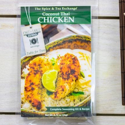 Coconut Thai Chicken Recipe Kit