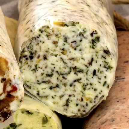 Compound Butter - Garlic Pesto