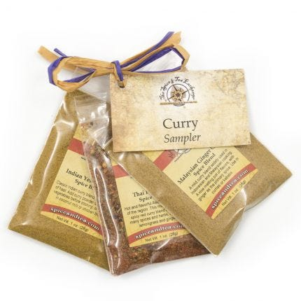 Curry Sampler