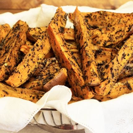 Darjeeling Sweet Potatoes