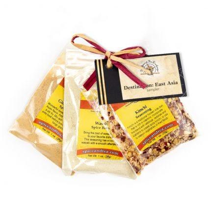 DESTINATION: EAST ASIA spice blend sampler